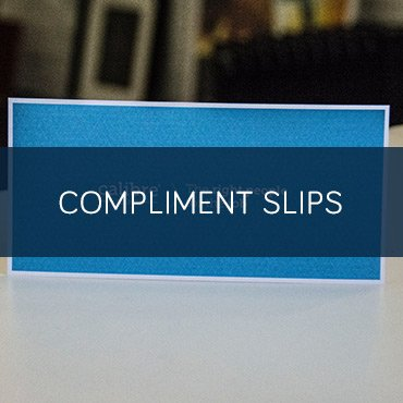Compliment Slips - Leeds Printing Company - compliment slip template