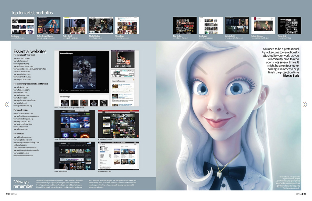 3D Artist Issue 75 \u2013 Top 10 Portfolio Arnold Rendering Blog