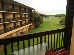 PGA National view from room