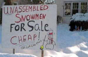 funny-clever-sign-prank-winter-practical-joke-snowman-snow