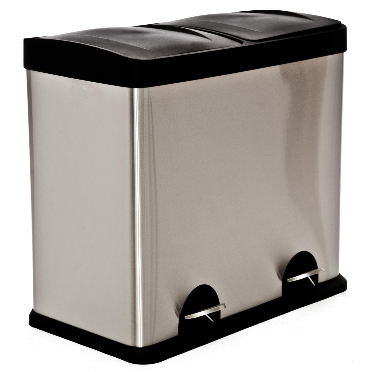 Stainless Steel Recycling Bins 40l Recycle Bin Stainless Steel