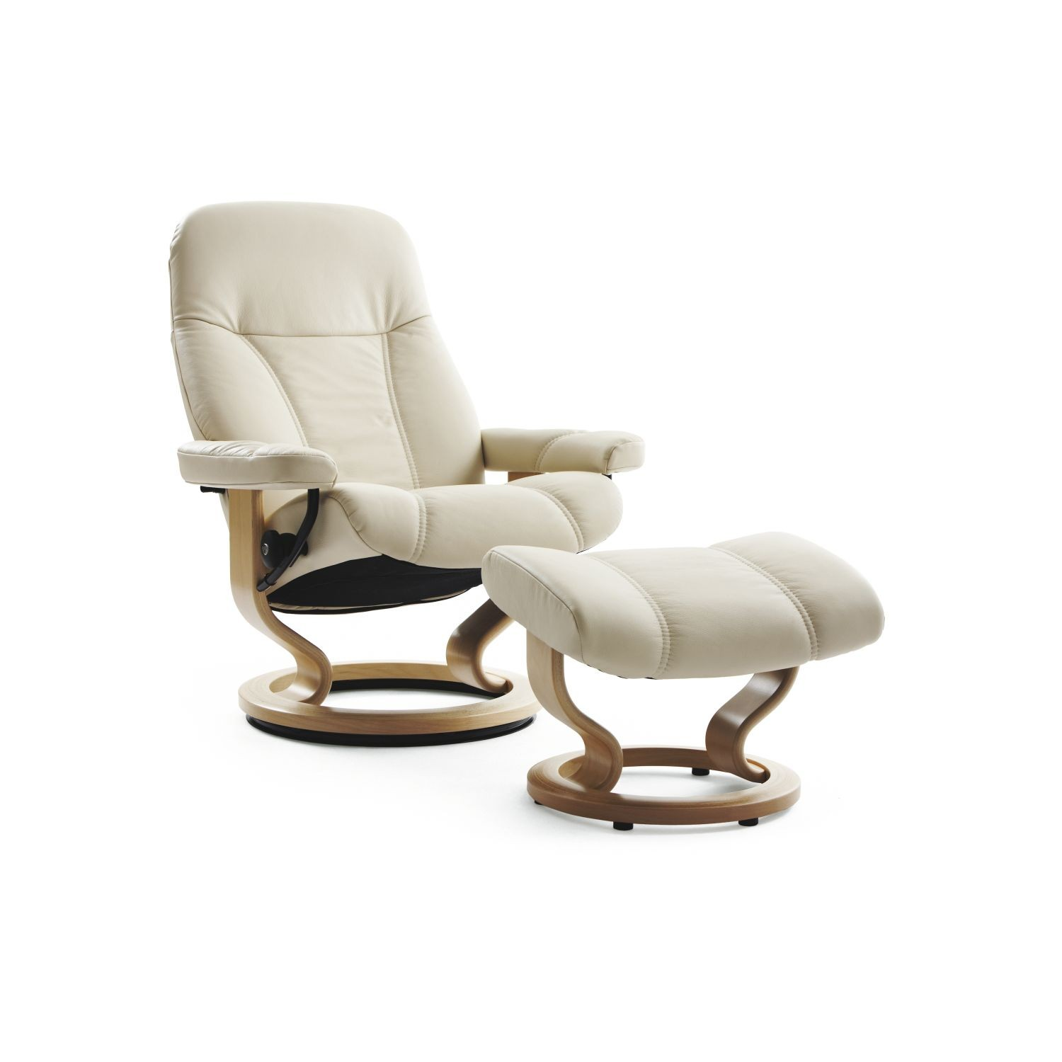Ekornes Consul Large Stressless Consul Large Chair And Stool Leekes