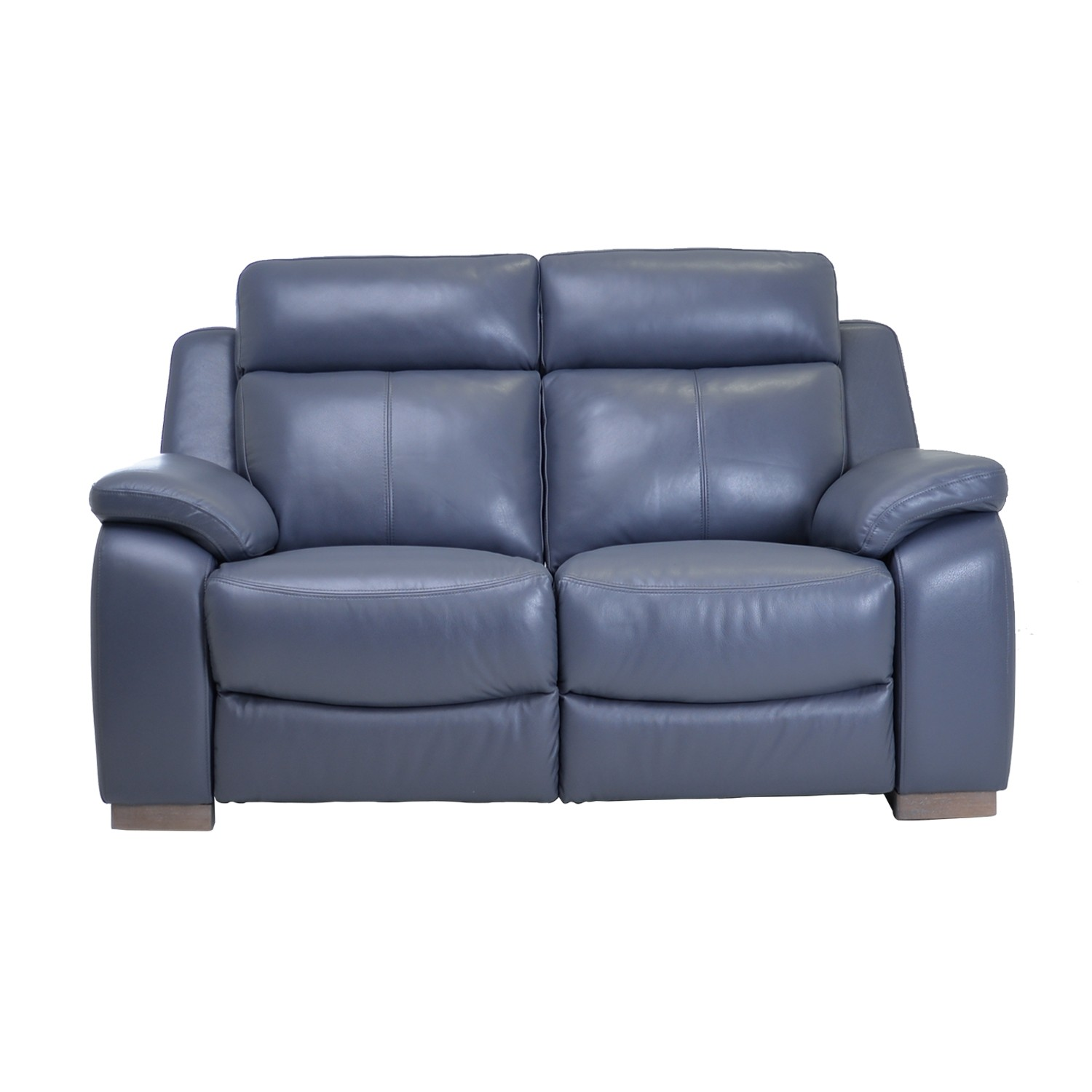 Casa Alabama 2 Seater Leather Power Recliner Lavender Grey