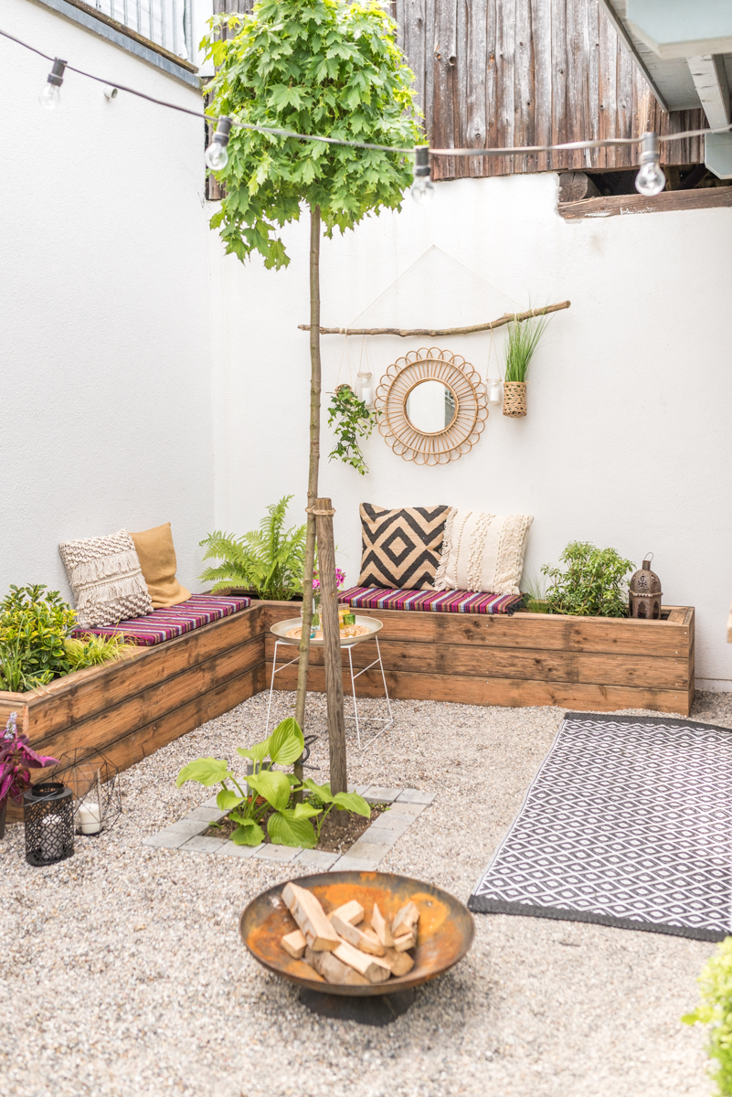 Garten Do It Yourself Ideen Diy Terrassen Makeover Vorher Nachher Teil 2 Leelah Loves