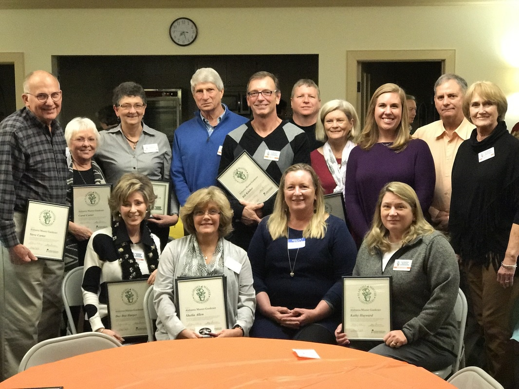 Master 2016 2016 Class Lee County Master Gardeners Of Alabama