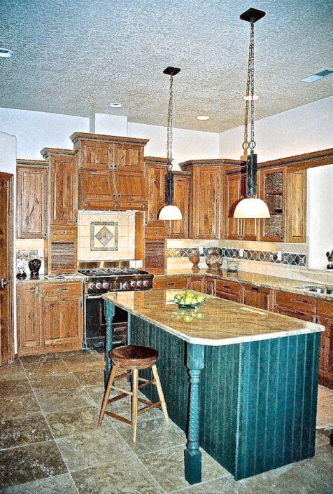 northeast heights craftsman home kitchen