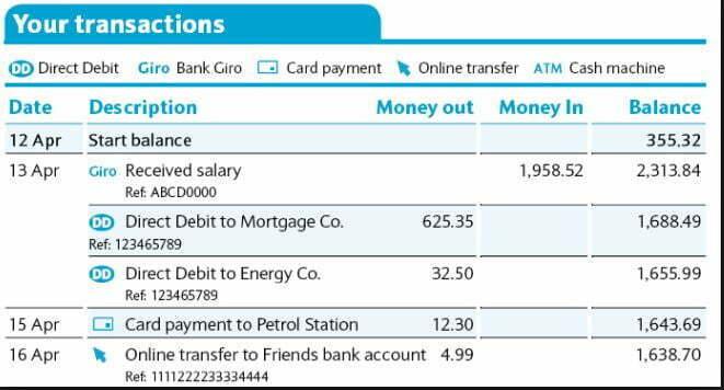 Handy Tip #23 - Bank statements