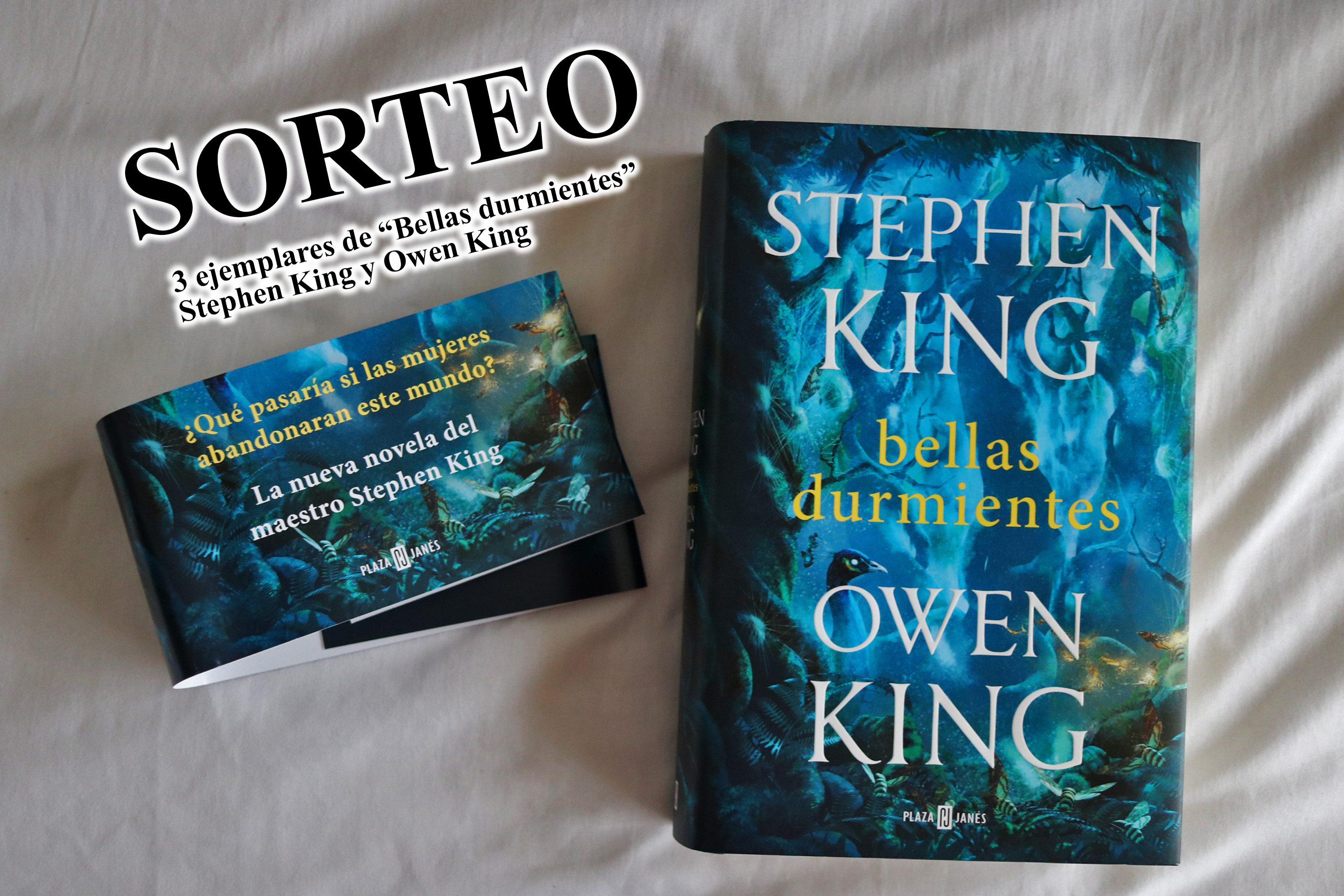 El Ultimo Libro De Stephen King Sorteo Bellas Durmientes De Stephen King Y Owen King