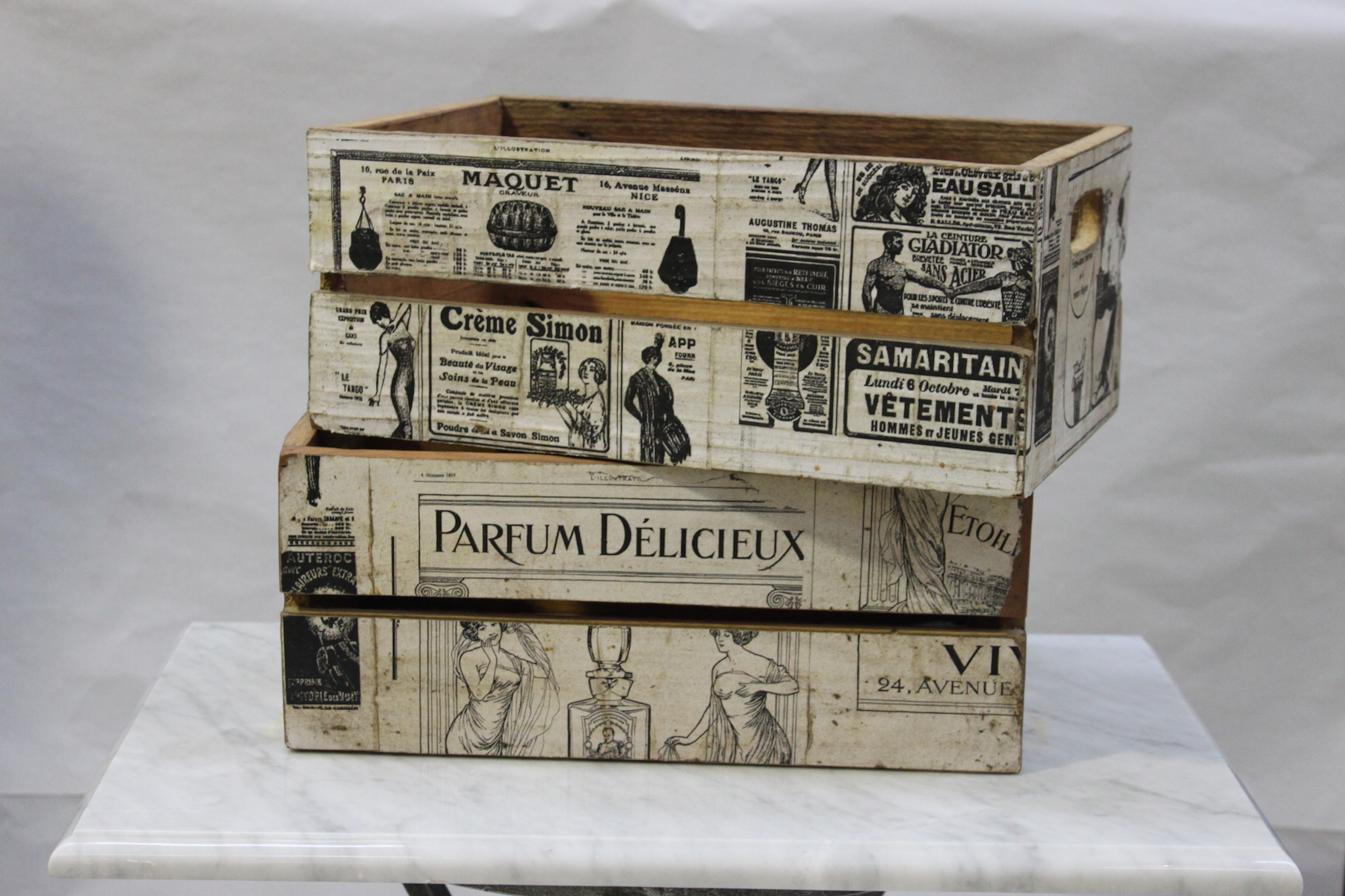 Storage Boxes Sydney Homewares And Accessories French Newspaper Box