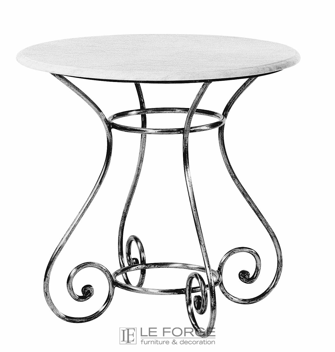 Barney S Table Base Small Steel