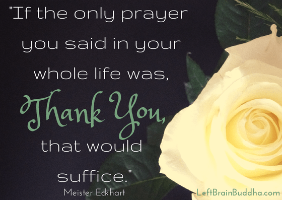 Thank You is a Prayer