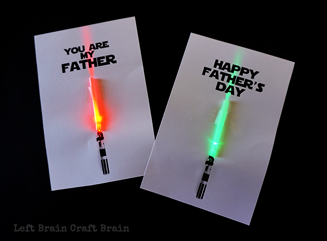 Light-up Father\u0027s Day Cards - Left Brain Craft Brain - father day cards
