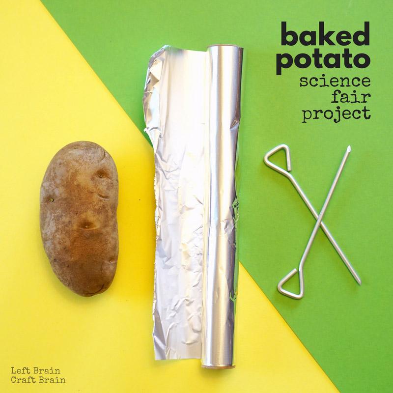 What\u0027s the Fastest Way to Bake a Potato? Baked Potato Science Fair