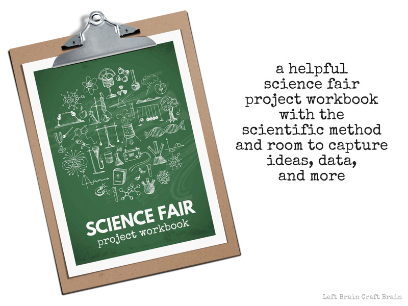 The Coolest Science Fair Projects for Kids - Left Brain Craft Brain