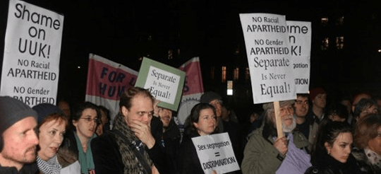 Gender segregation uk