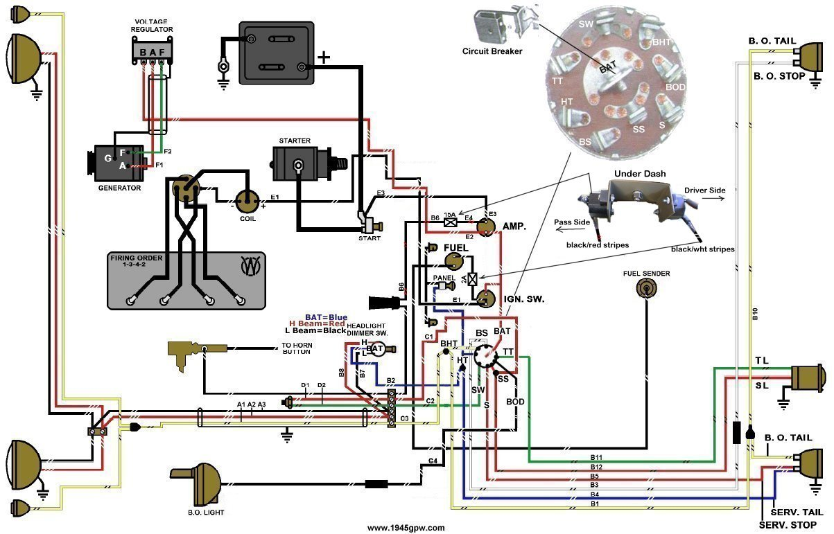 jeep mb wiring