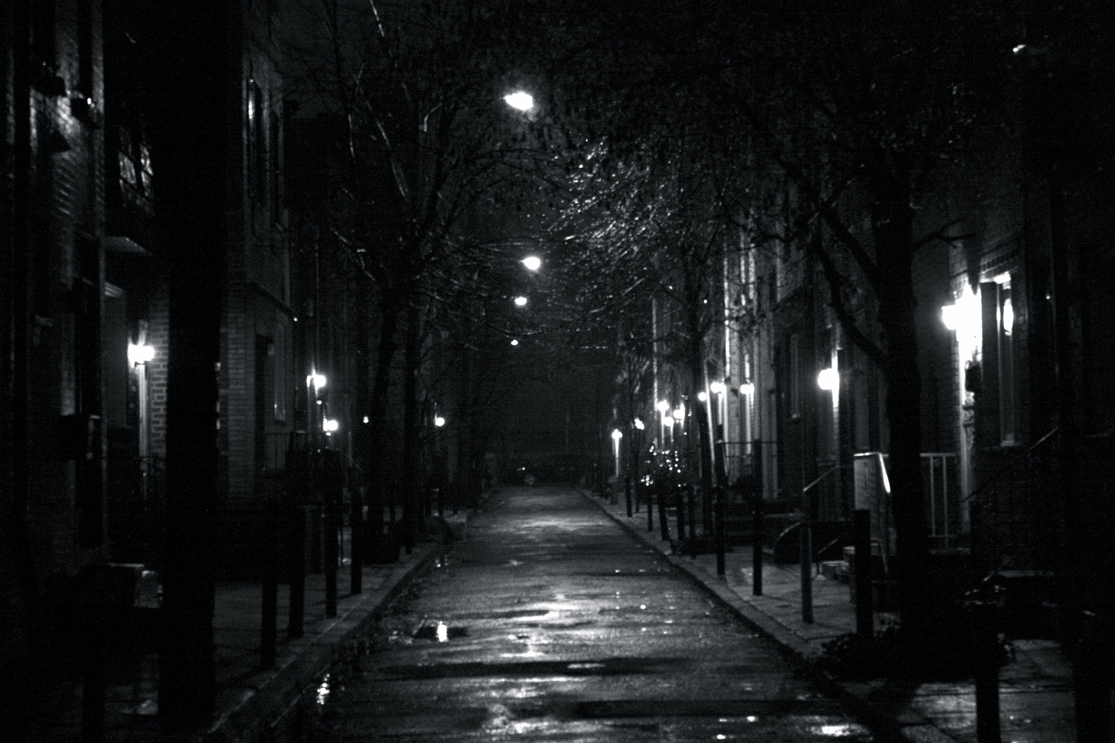 Dark City Street At Night Simple Self Defense Techniques You Should Know In Dire