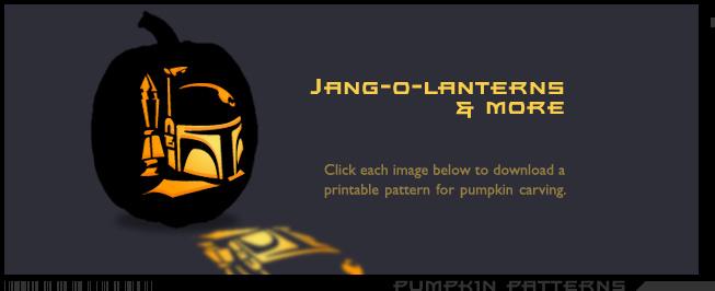 Star Wars Pumpkin Designs