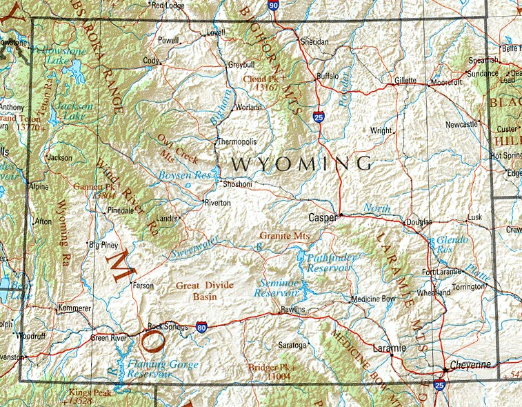 Wyoming Maps - Perry-Castañeda Map Collection - UT Library Online