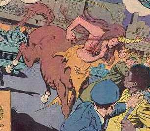 anime centaur transformation