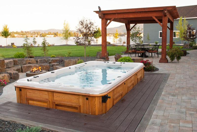 Spokane Coeur D39alene Backyard Fire Pit Design