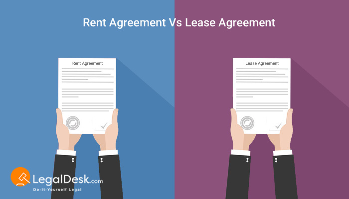 What Is Rent Agreement? How Is Rent Different From Lease? - lease and rental agreement difference