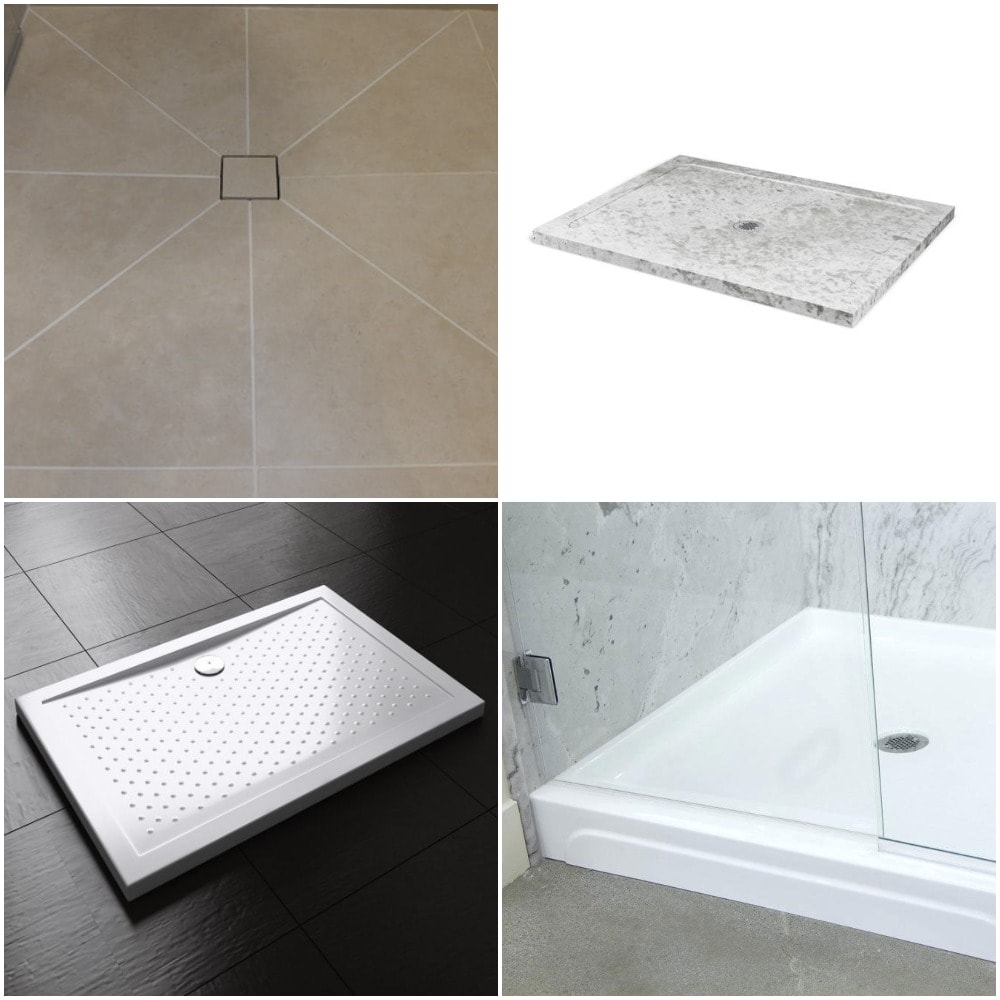 The 4 Best Materials For Shower Bases Pans A Comparison