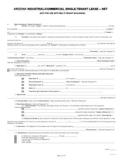 Commercial Lease Agreement Indiana Cv Resumes Maker Guide