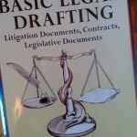 Resources for translating contracts (4): Basic Legal Drafting