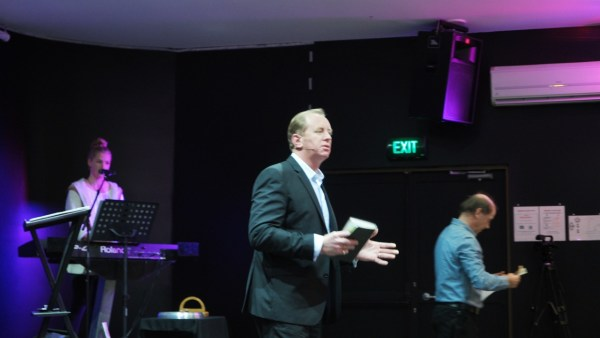 Pastor Andrew Corbett