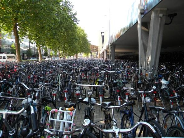 Biciclette a Tilburg