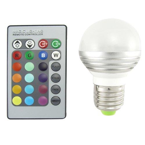 Lampadina LED con telecomando