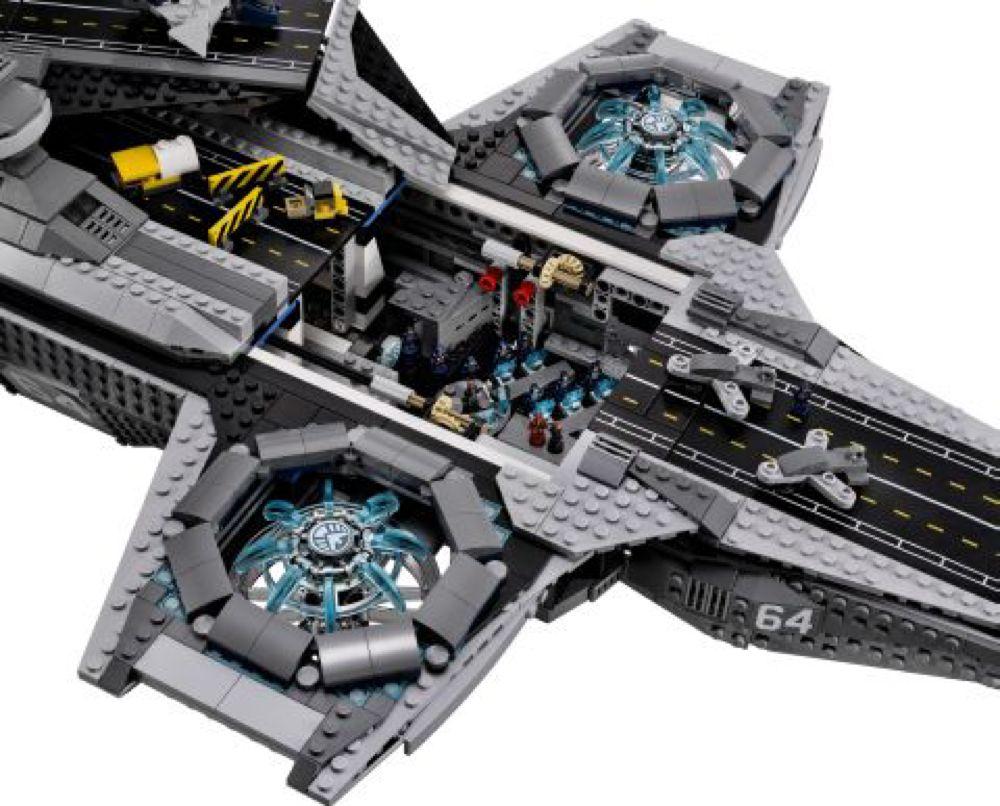 Lego 76042 – Marvel Super Heroes SHIELD Helicarrier UCS # ...