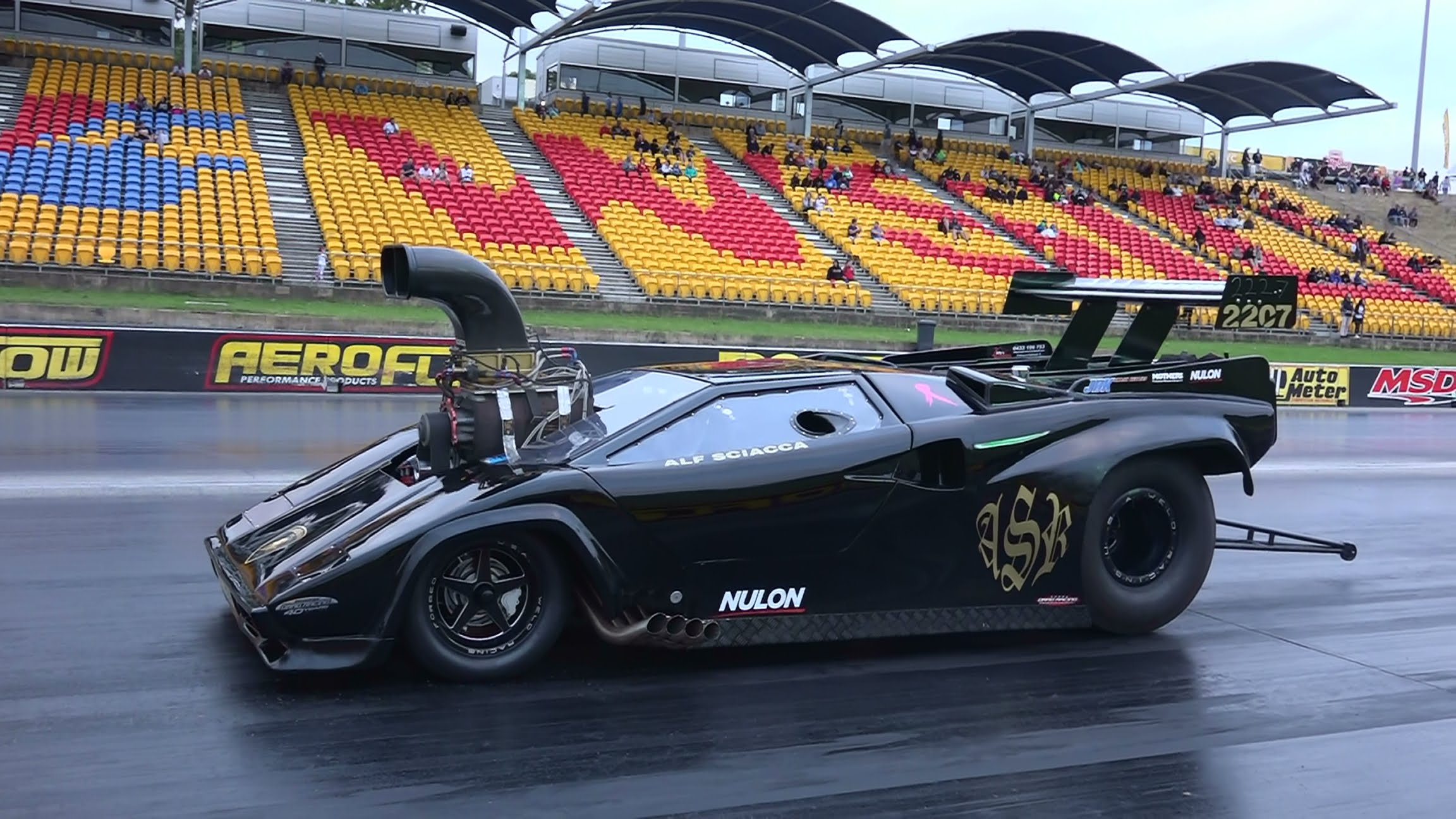 Cars For You Supercharged V8 Lamborghini Drag Racer Is The Meanest