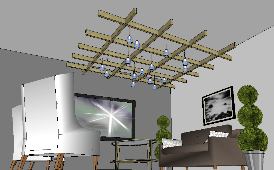 Home Builders Austin Lighting Design Using Google Sketchup - Legend Lighting