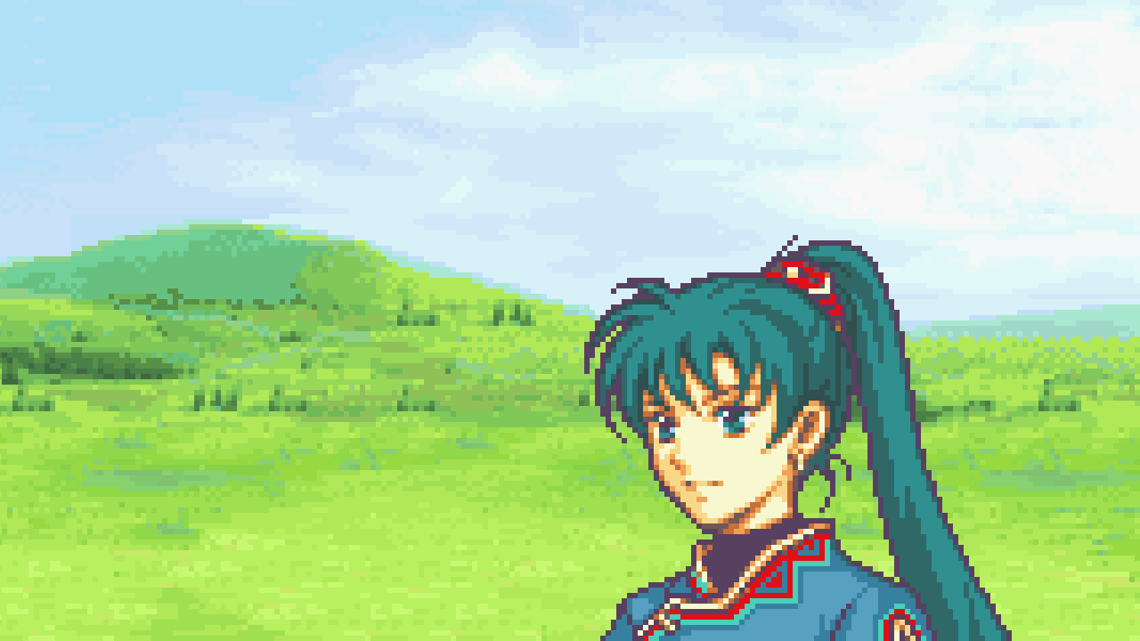 Final Fantasy Girl Wallpaper Does Lyn Talk Like A Country Gal In Japanese Fire Emblem