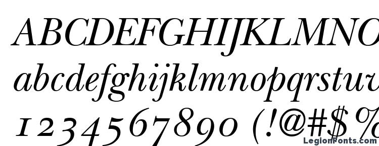 ITC New Baskerville Italic Old Style Figures Font Download Free