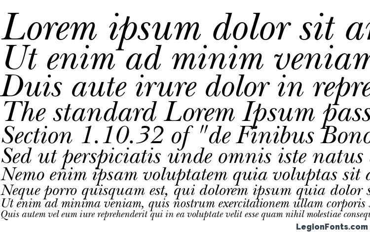 ITC New Baskerville LT Italic Font Download Free / LegionFonts