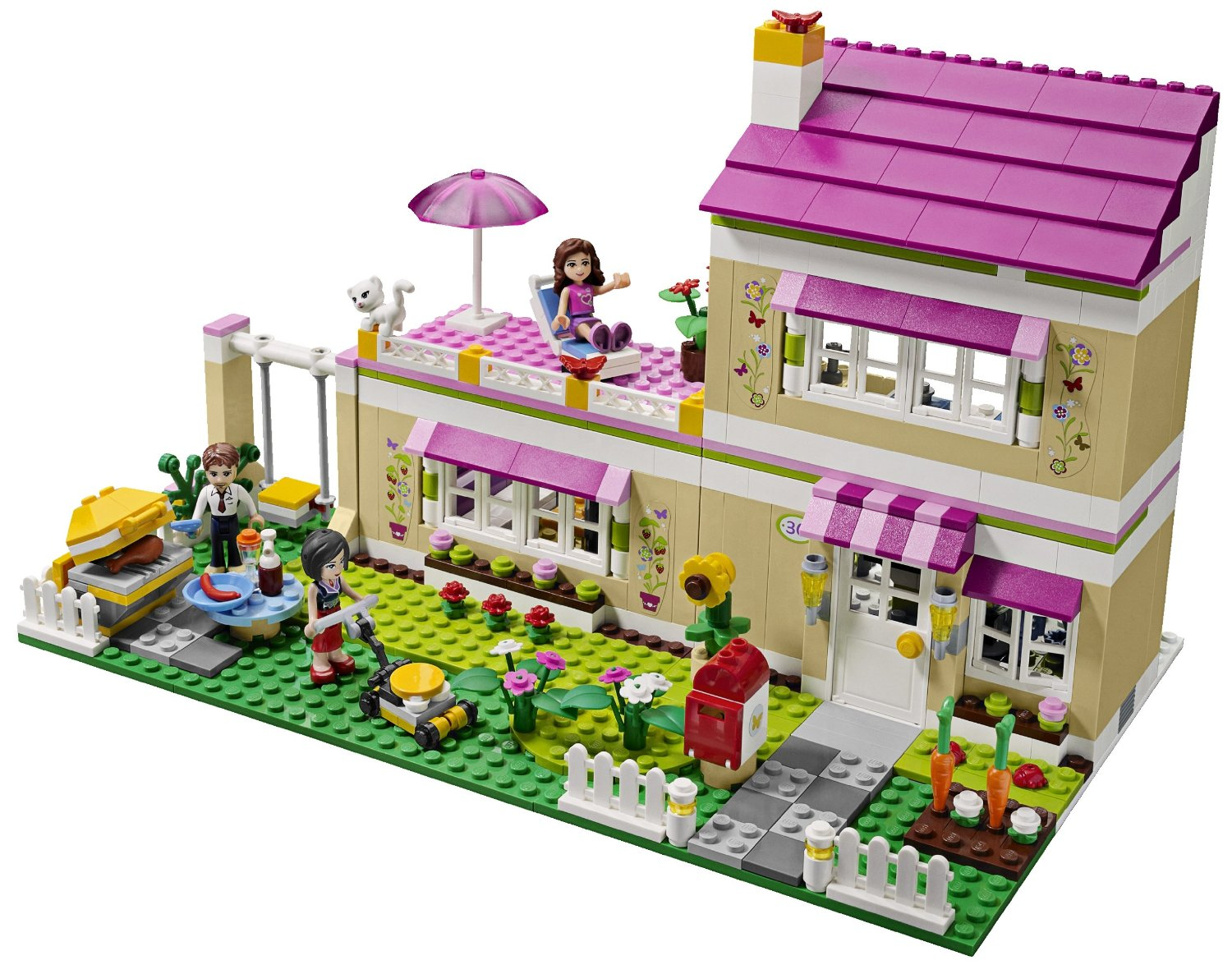 Lego Friends Badezimmer Lego Friends Heartlake City 3315 Olivias Traumhaus