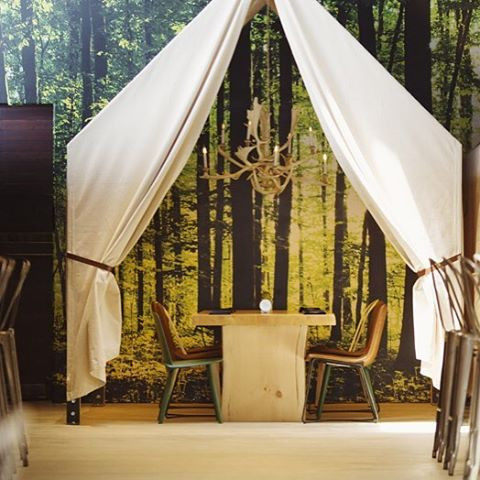 This is my kind of camping!