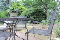 Spray Paint Patio Furniture - Our Vintage Wrought Iron ...