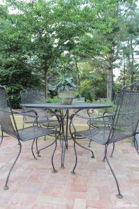 Patio Furniture Paint how to paint patio furniture with ...