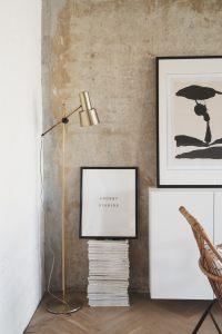 Concrete Ceiling Apartment | Leibal