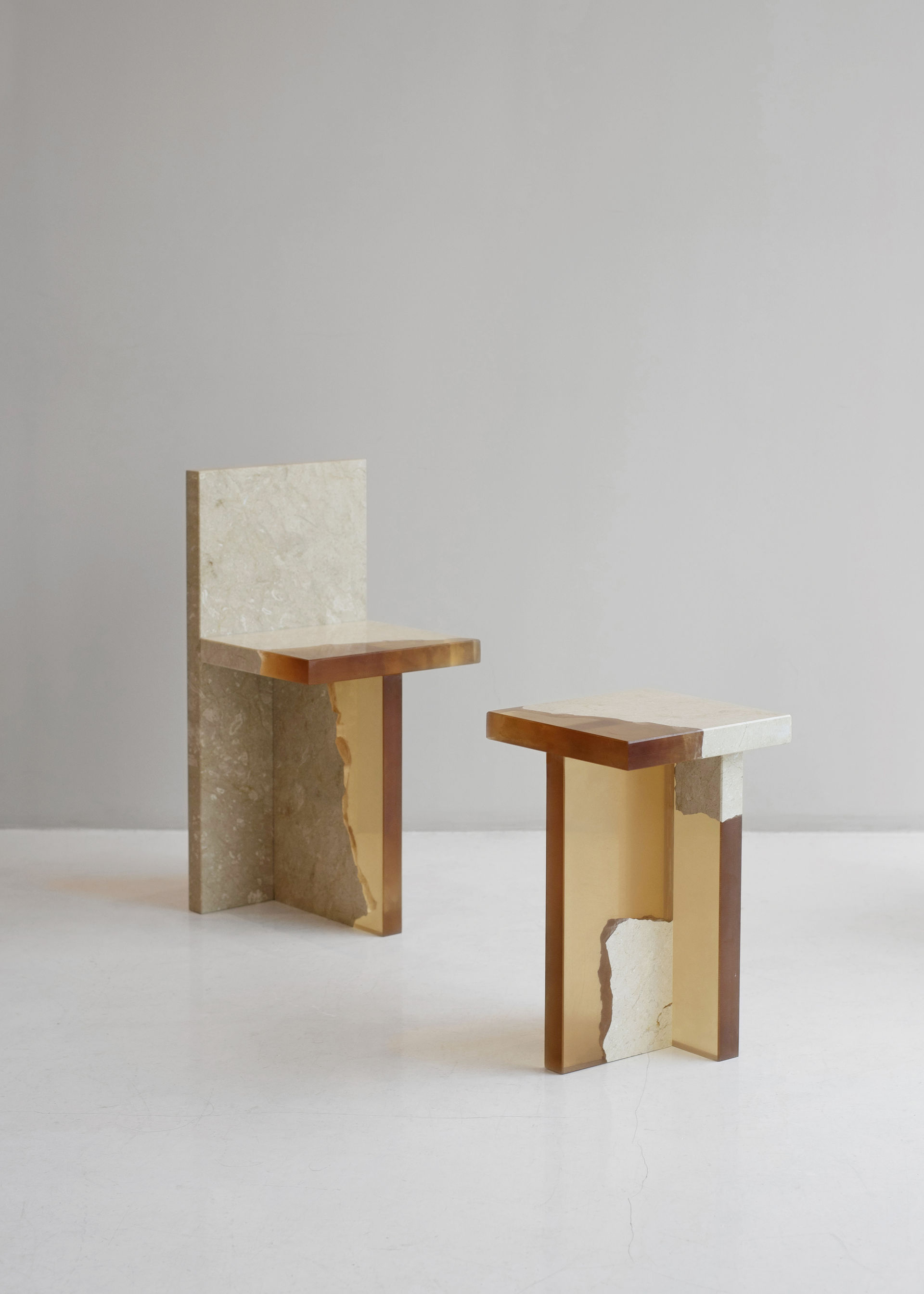 Minimalist Furniture Fragment Series Is A Minimalist Collection Of Furniture Designed