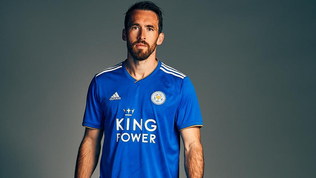 Leicester City39s 2018 19 Adidas Home Kit