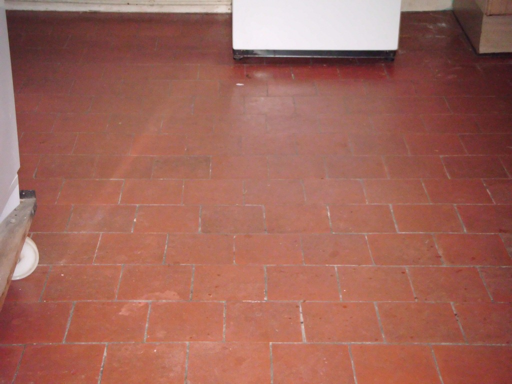 Rode Vloertegels Sealing Quarry Tiled Floors Cleaning And Sealing