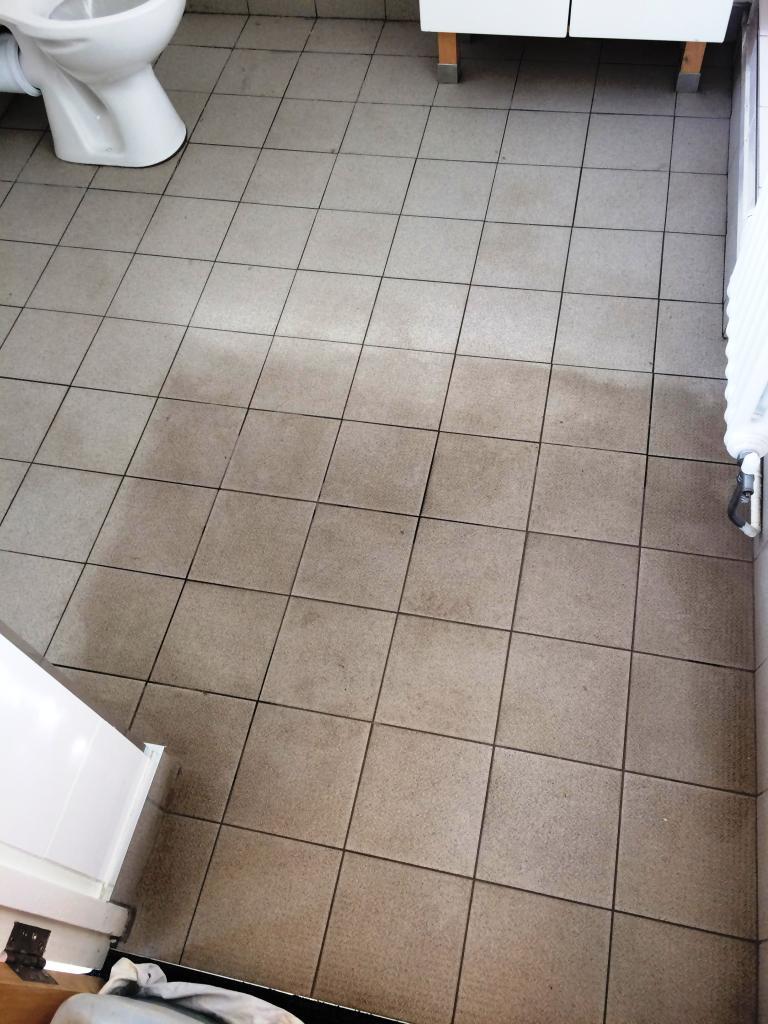 Non slip ceramic tile during cleaning melton mowbray