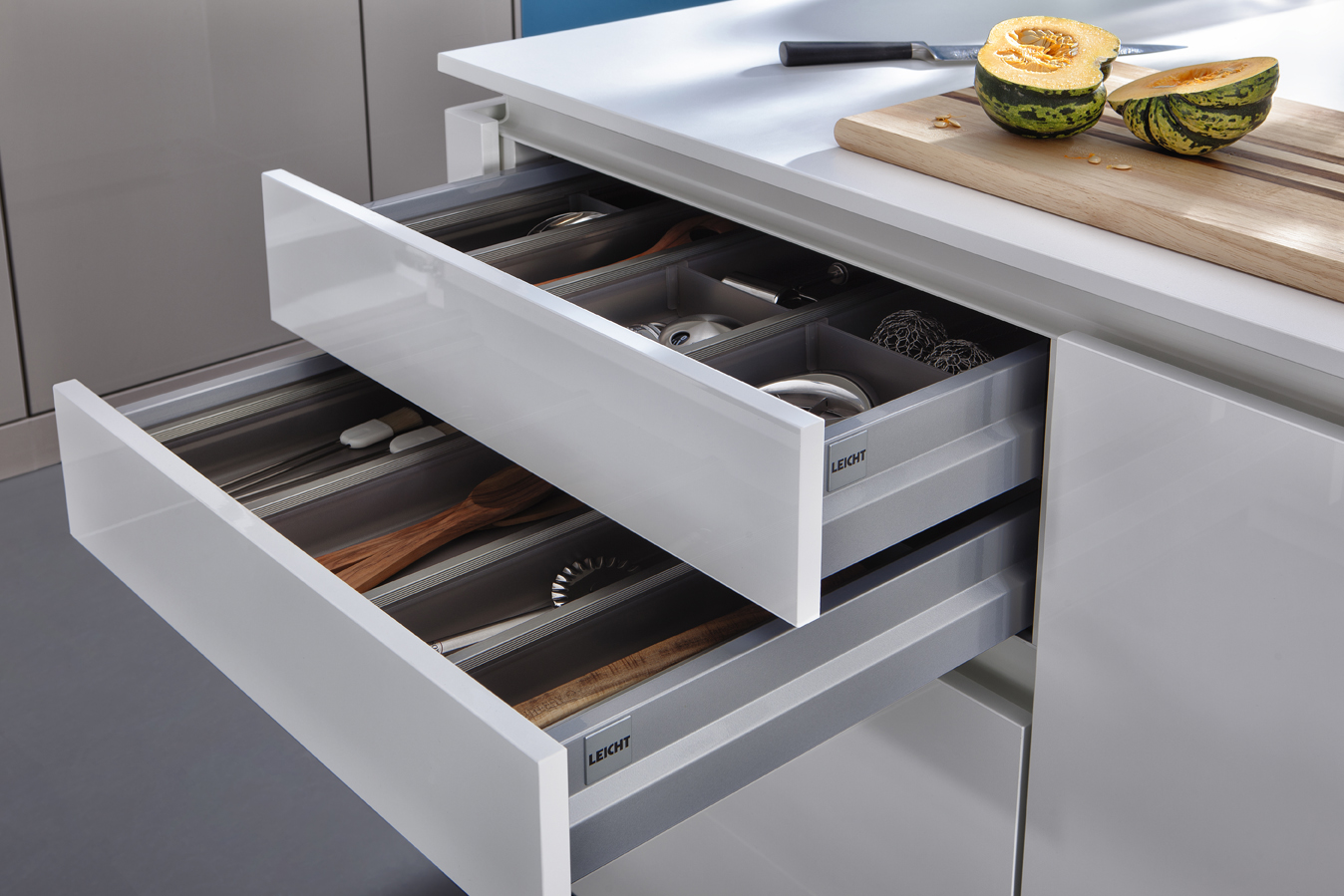 Ikea Schubladenteiler Küche Contino The New Standard In Handle Less Kitchen Cabinets