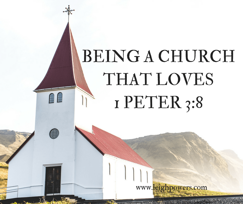 Being a Church That Loves