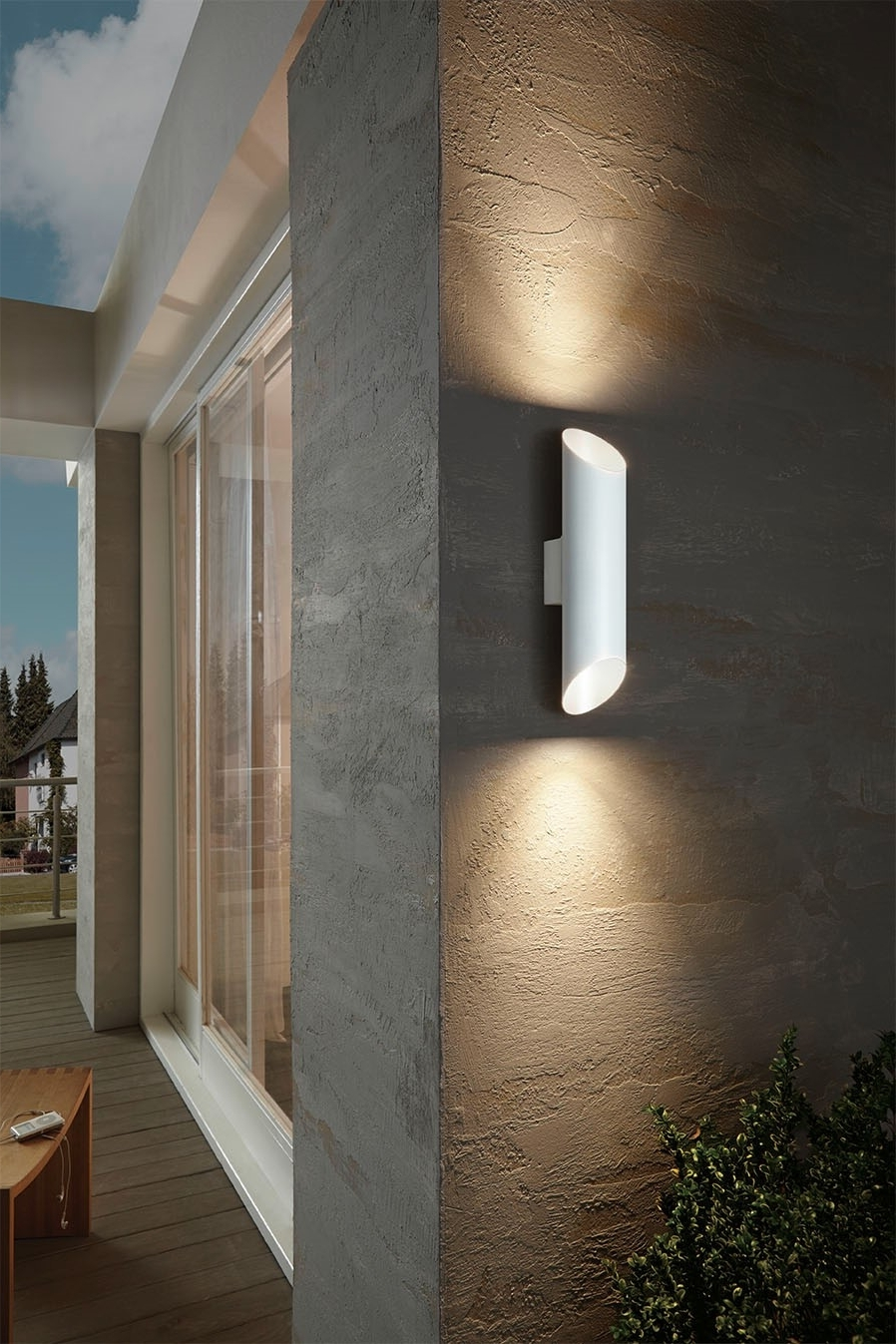Eglo Riga Led Outdoor Wall Light Eglo Outdoor Lighting Catalogue